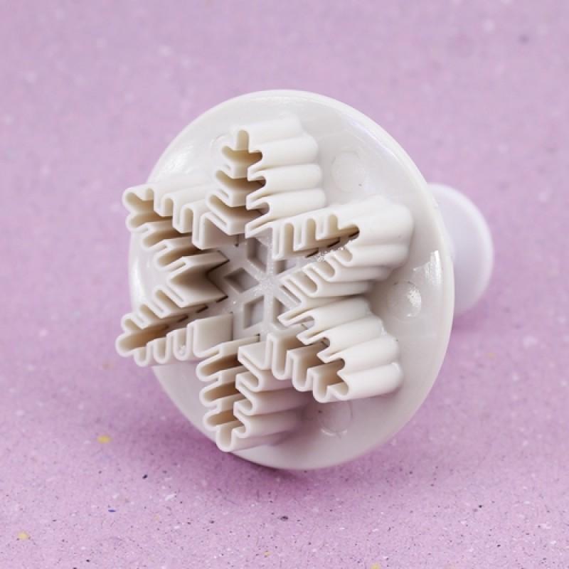 Набор форм-штампов Снежинки 3шт #10593