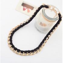 Ожерелье Цепь и Шнур #4471