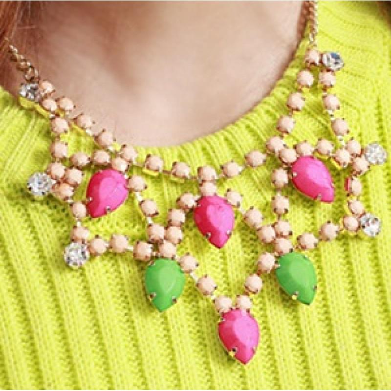 Яркое ожерелье  #5758