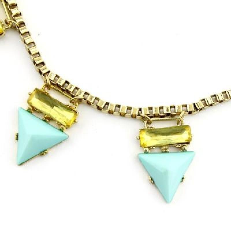Ожерелье с Бирюзовыми Шипами #1904
