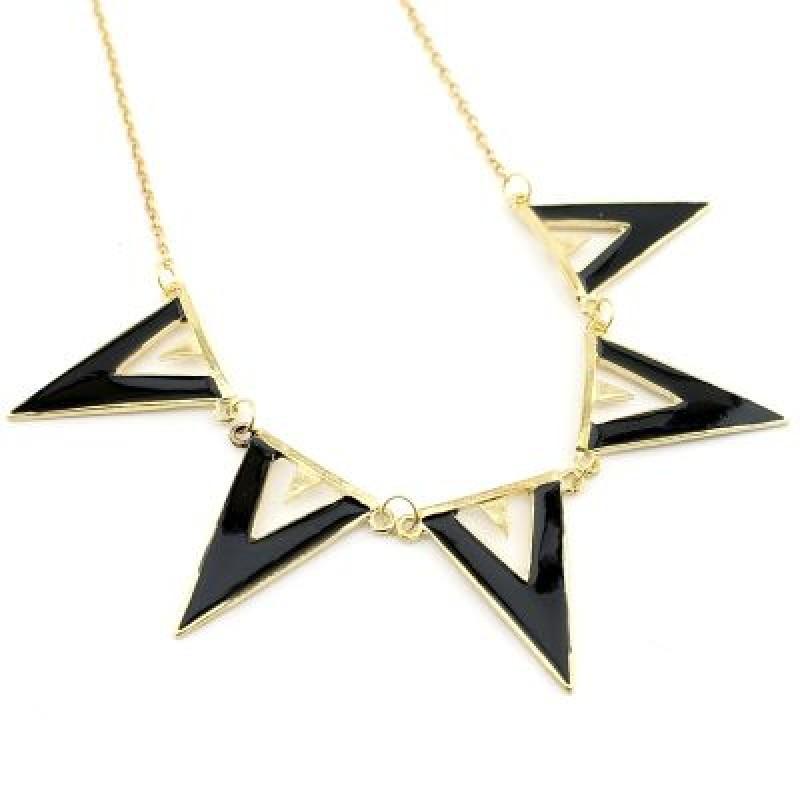 Колье Треугольники  #3604