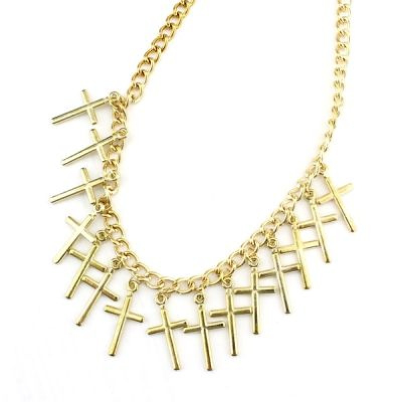 Ожерелье Кресты #3528