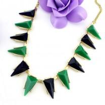 Ожерелье с Шипами и Камешками #6306