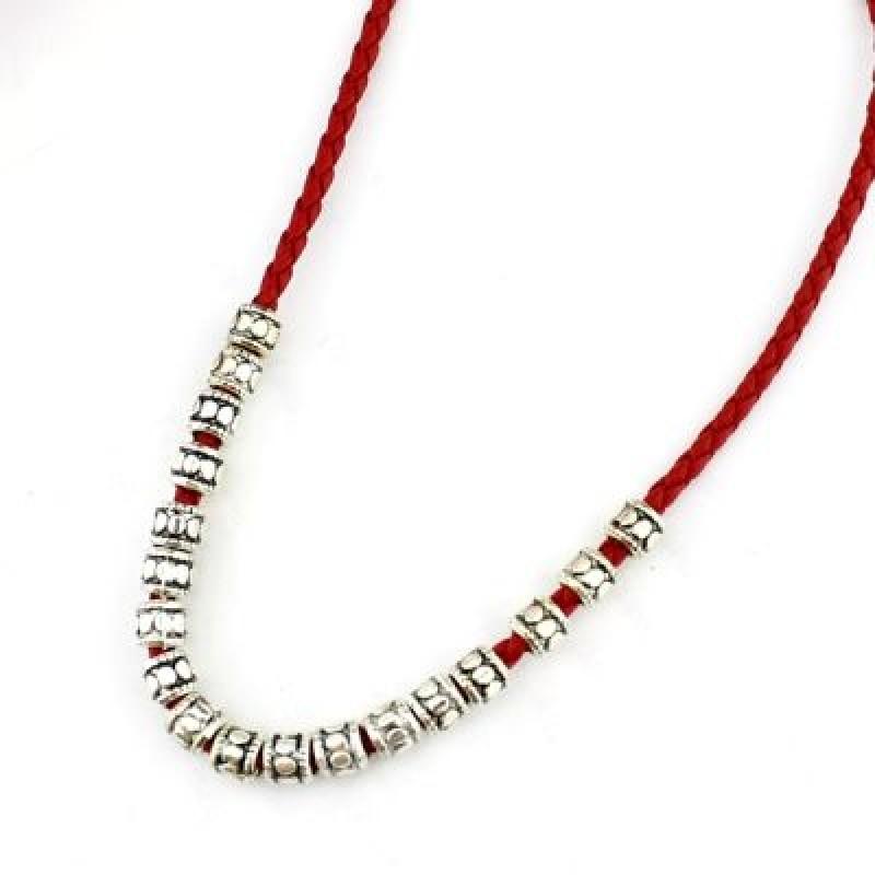 Ожерелье с Металлическими Бусинами #2189