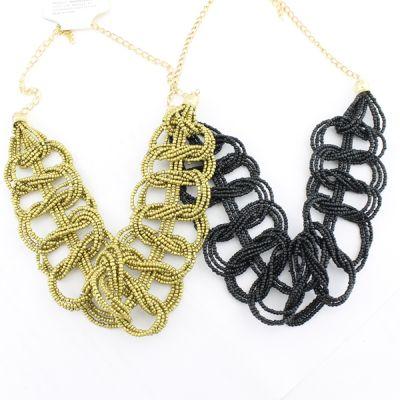 Плетеное Бисерное Ожерелье #4466