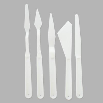 Набор пластиковых шпателей, 5 шт #10160