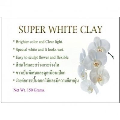 Супер белая глина тайская (холодный фарфор) #10457