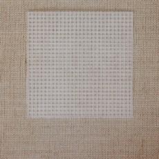 Канва для вышивания, 10,7х10,7см #10855