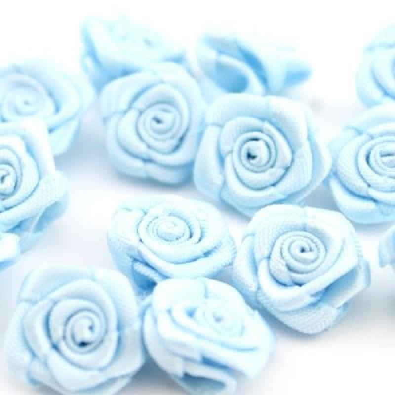 Цветы тканевые Роза D=14 #4150