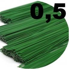 Прутик флористический 0,5мм 70см, 10шт #5823