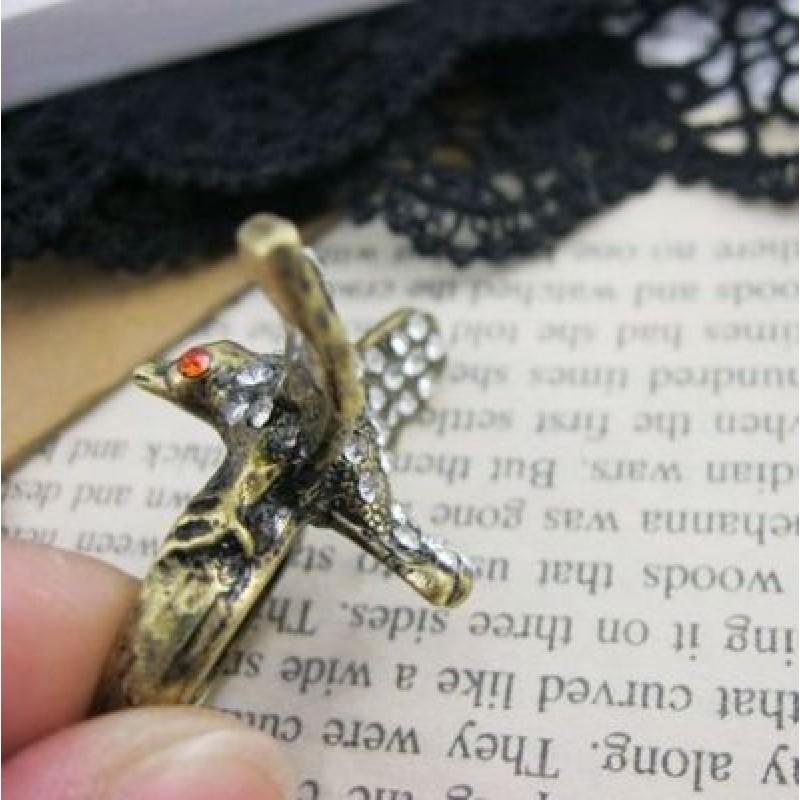 Кольцо Орёл #4804