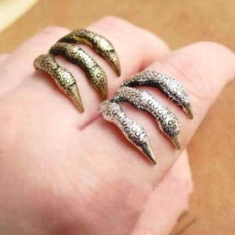 Кольцо Лапа Чудовища #2515