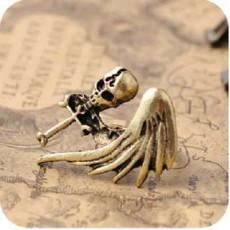 Кольцо Череп и Крыло #7129