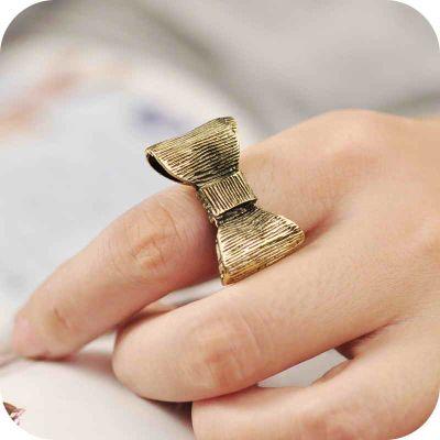 Кольцо с Бантом #7669