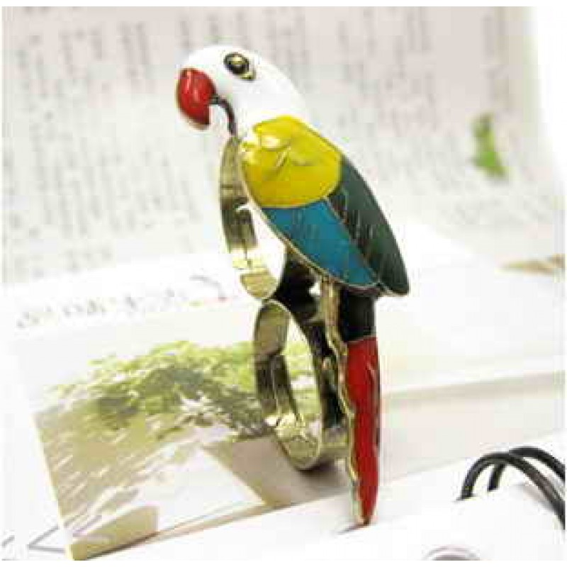Кольцо Попугай #7946