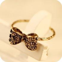 Кольцо Бантик #3480