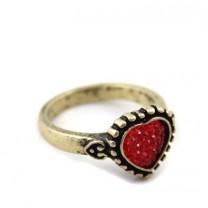 Кольцо Сердечко #4010