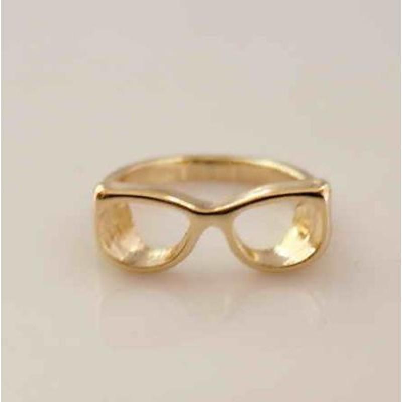Кольцо Очки #4580