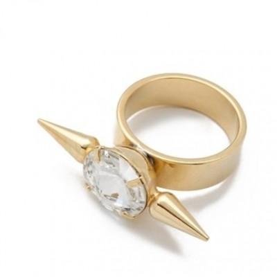 Кольцо Кристалл и Шипы #4588
