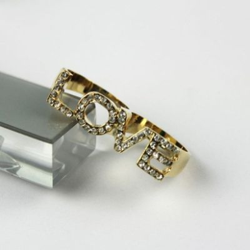 Кольцо LOVE Размер 1.8-1.7 см #5052