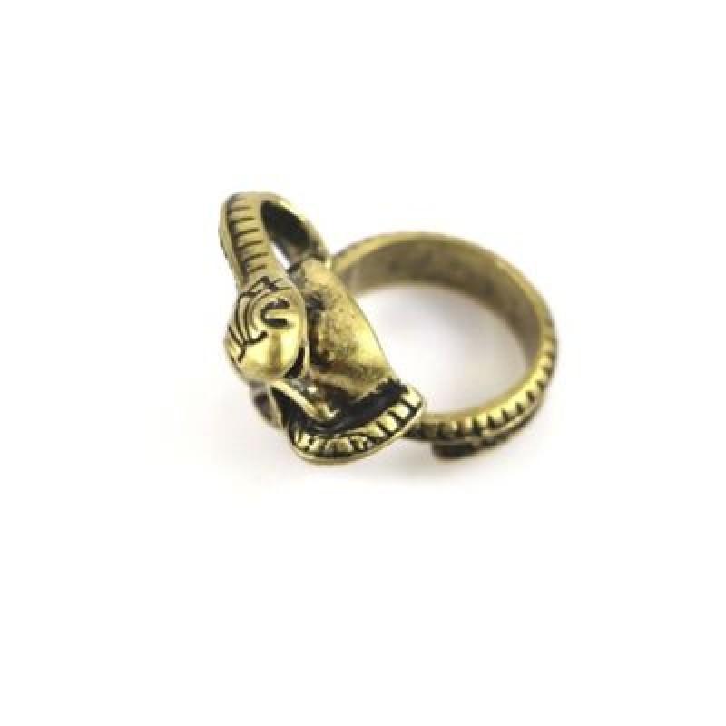Кольцо Змея и череп #5716