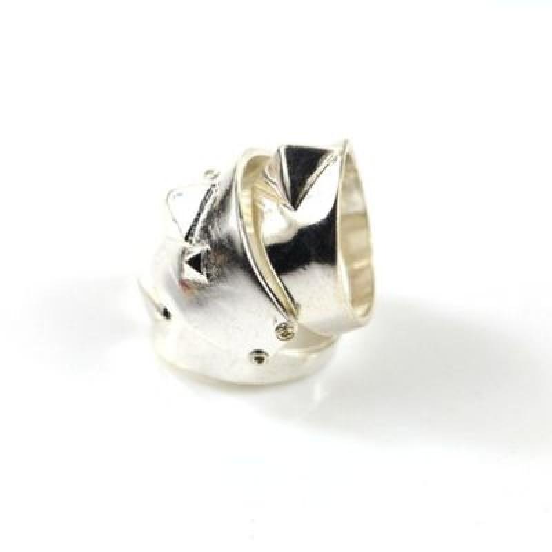 Широкое Кольцо на две фаланги#5717