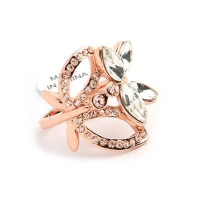 Кольцо Цветок #5993