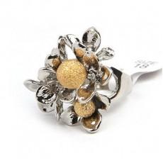 Кольцо Лепестки #5995