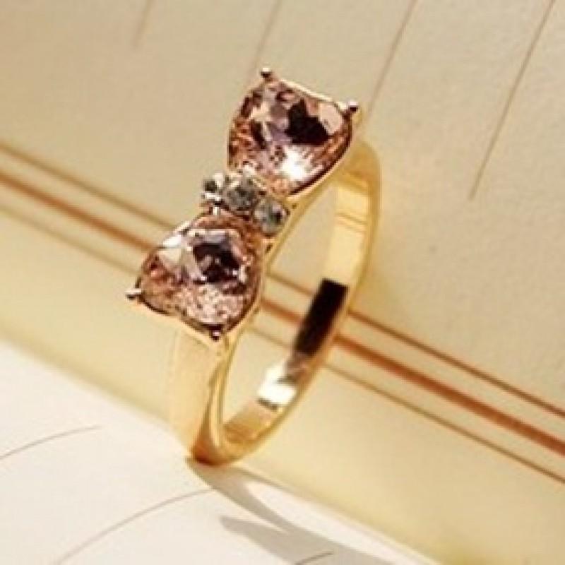 Кольцо с Бантиком #6133