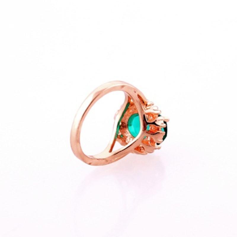 Кольцо Изумруд #3471 размер 16