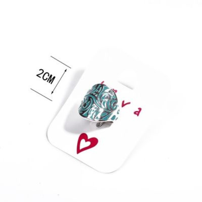 Бирюзовое кольцо #9103