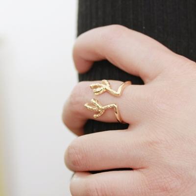 Кольцо #9190 Золотое