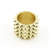 Широкое Кольцо с Шипами #4591