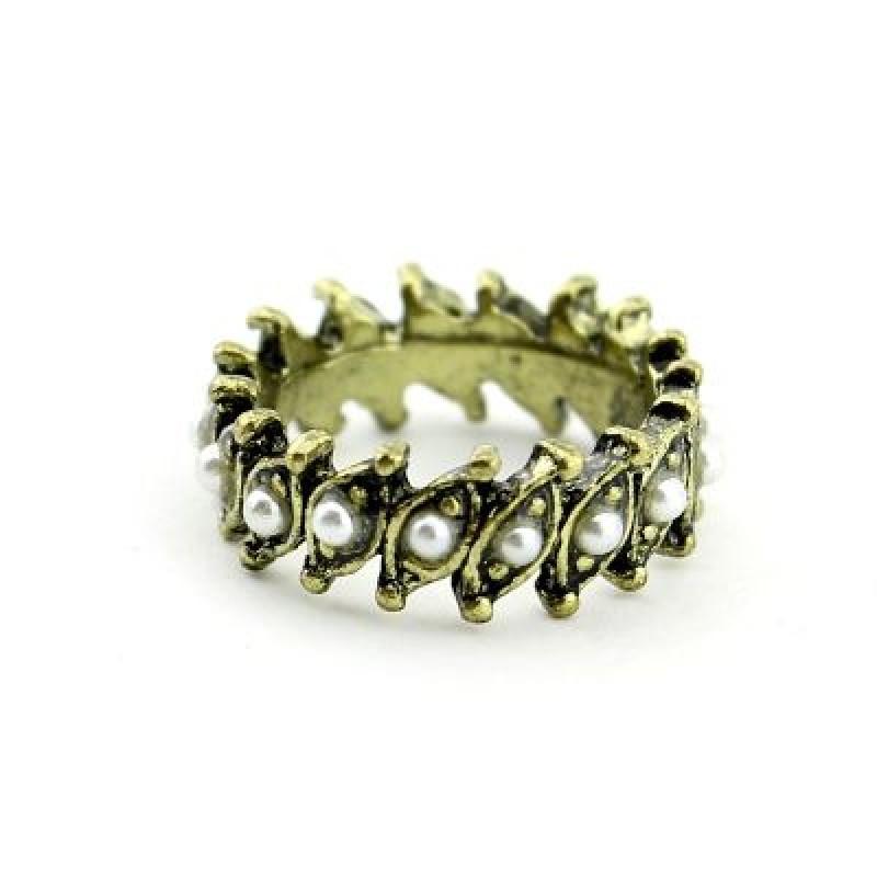 Кольцо с кристаллами #1506