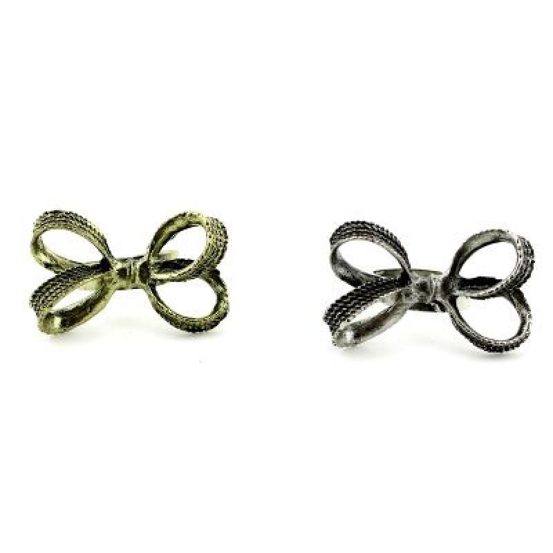 Кольцо Двойной бант #5265