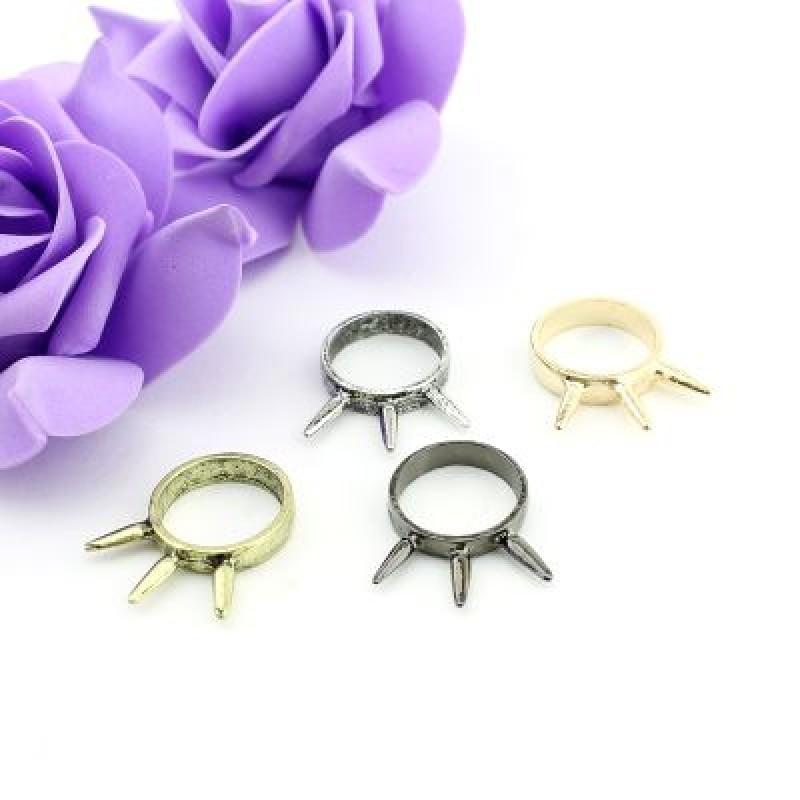 Кольцо с тремя шипами #7674