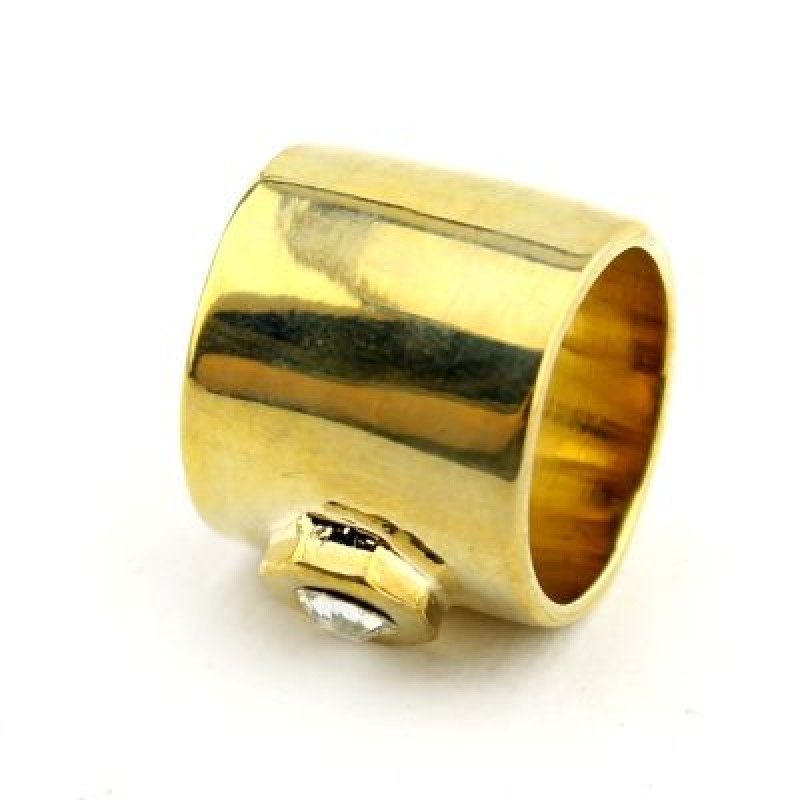 Литое  Кольцо Гайка #6134