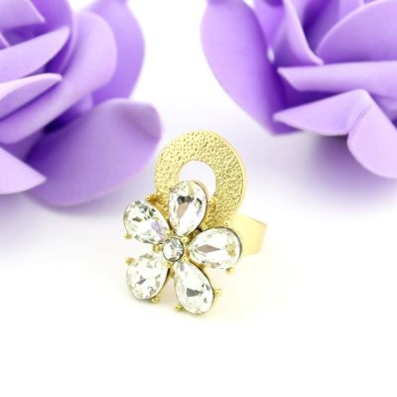 Кольцо Цветок  #5916