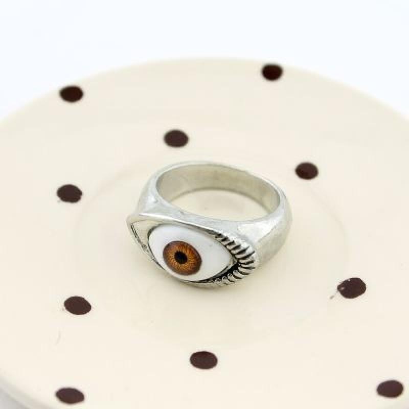 Кольцо Глаз #7964 Размер 18