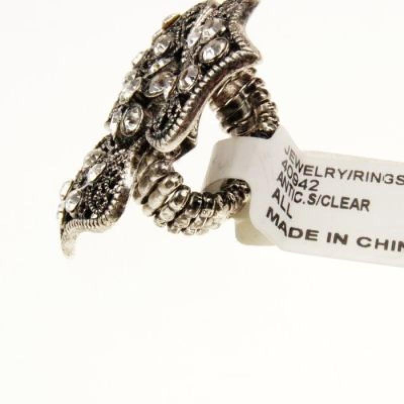 Кольцо Ажурный Цветок #3700