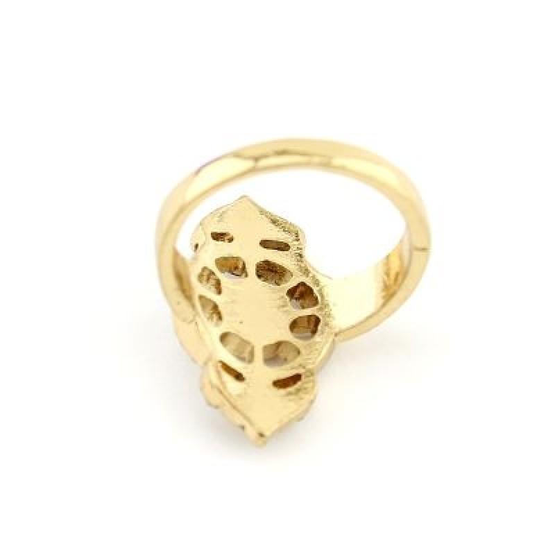 Широкое Ажурное Кольцо #4668