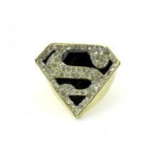 Кольцо Девушка Супермена #7682