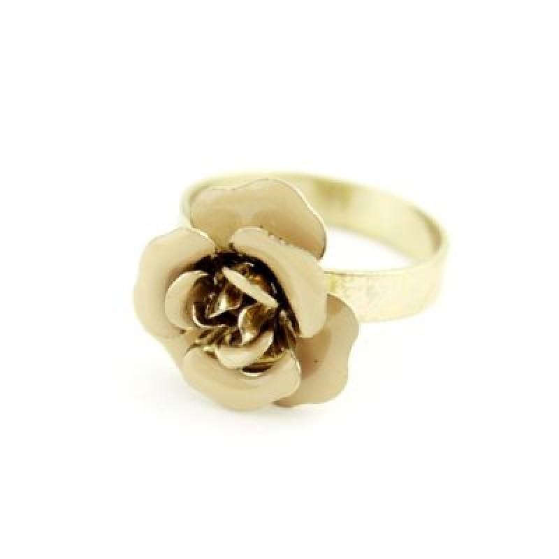 Набор Колец Роза (3 шт) Р-р19 #6791