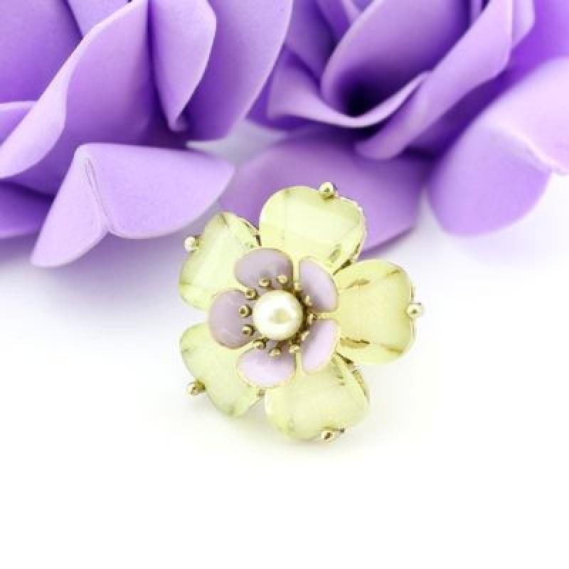 Кольцо-цветок #7746