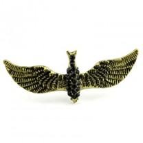 Кольцо Птица  #4360 Бронза