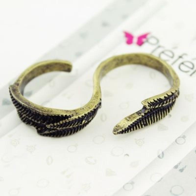 Кольцо на два пальца #4351