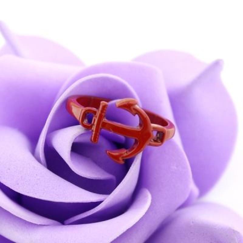 Кольцо Якорь #6013