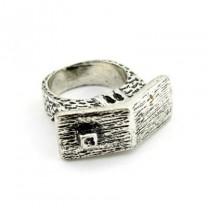 Кольцо Домик #6414