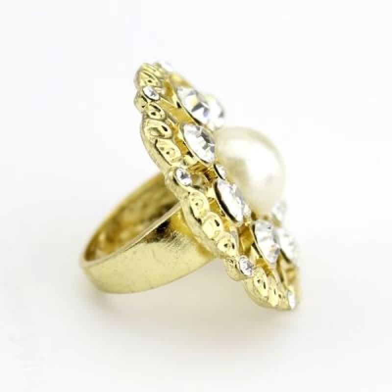 Кольцо с Жемчужиной #3687