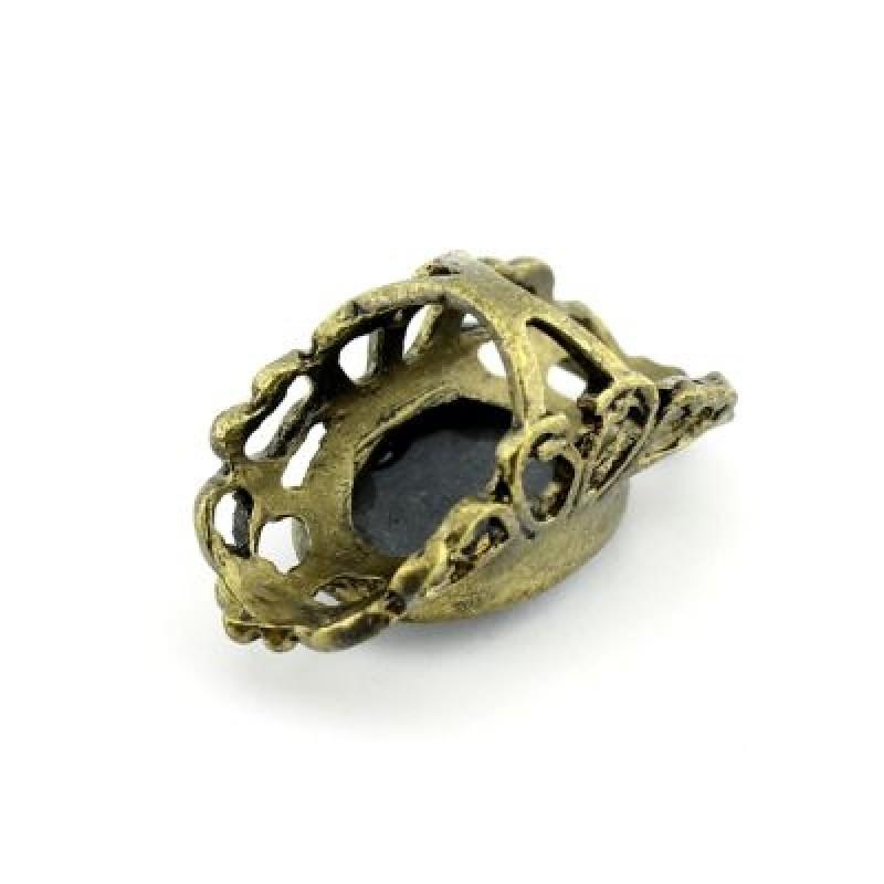 Кольцо с Овальной Камеей #7947